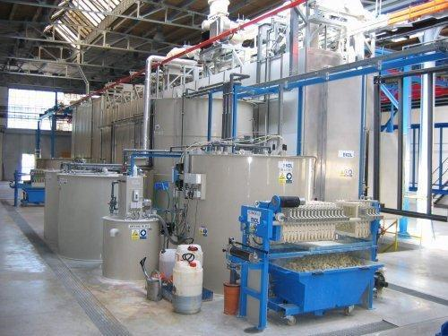cistirna-odpadnich-vod1 Equipment for surface finishing of steel, aluminum and plastic